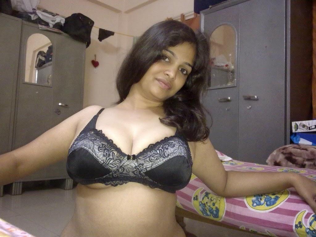 Hot Desi Wife In Bra And Panties  Sexy Shameless Girlfriends-3183