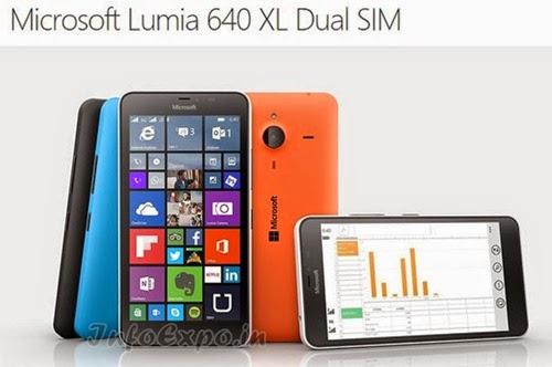 MicrosoftLumia 640 XL: 5.7 inch,1.2GHz Quad-core Windows 8.1 Phone Specs, Price
