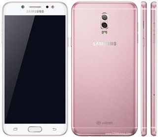 Gambar Samsung Galaxy C7 (2017) warna pink