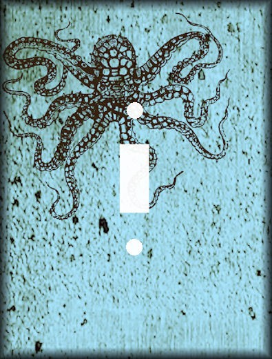 Check Out This Bright And Beautiful Octopus Light Switch Cover That S For Only 10 Lots Of Other Great Art Covers Available As Well
