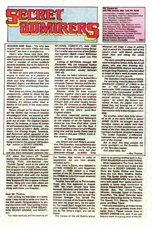 Read online Secret Origins (1986) comic -  Issue #19 - 42