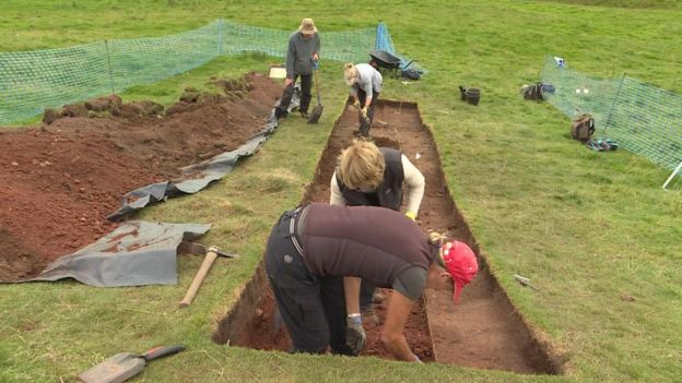First major battle site of Roman invasion of Scotland investigated