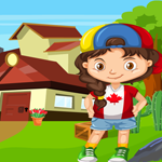 Games4King Canadian Girl Rescue Walkthrough
