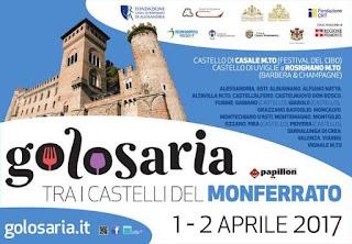 Golosaria tra i castelli del Monferrato 1-2 Aprile   Monferrato
