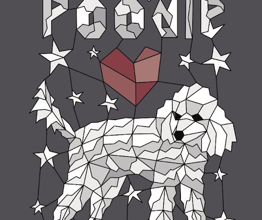 Geometric Toy Poodle