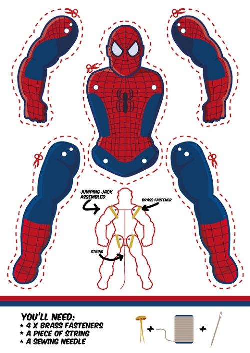 abbastanza Supereroi di carta: 7 personaggi da realizzare   Creare con la  SR94