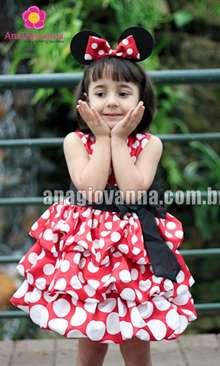 Vestidos Minnie Ana Giovanna - mais lindos que vocês já viu!