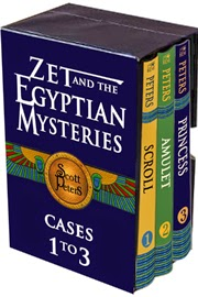 Zet Egyptian Mystery book set by Scott Peters