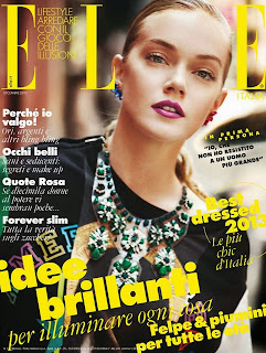 Editorial Fashion | Lindsay Ellingson By Drew Jarrett For Elle Italia December 2013