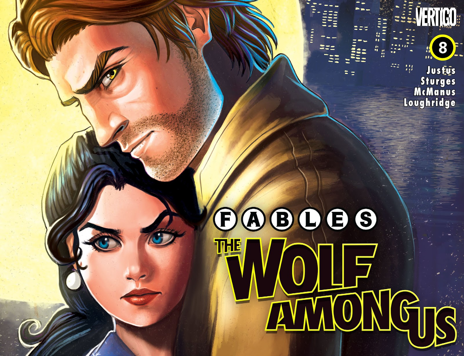Fables: The Wolf Among Us (2014) issue 8 - Page 1