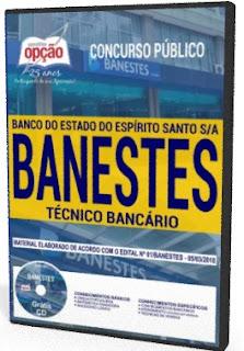 Apostila Banco do Estado do Espírito Santo S.A Técnico Bancário