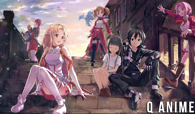 Q Anime - Sinopsis Lengkap Anime Sword Art Online
