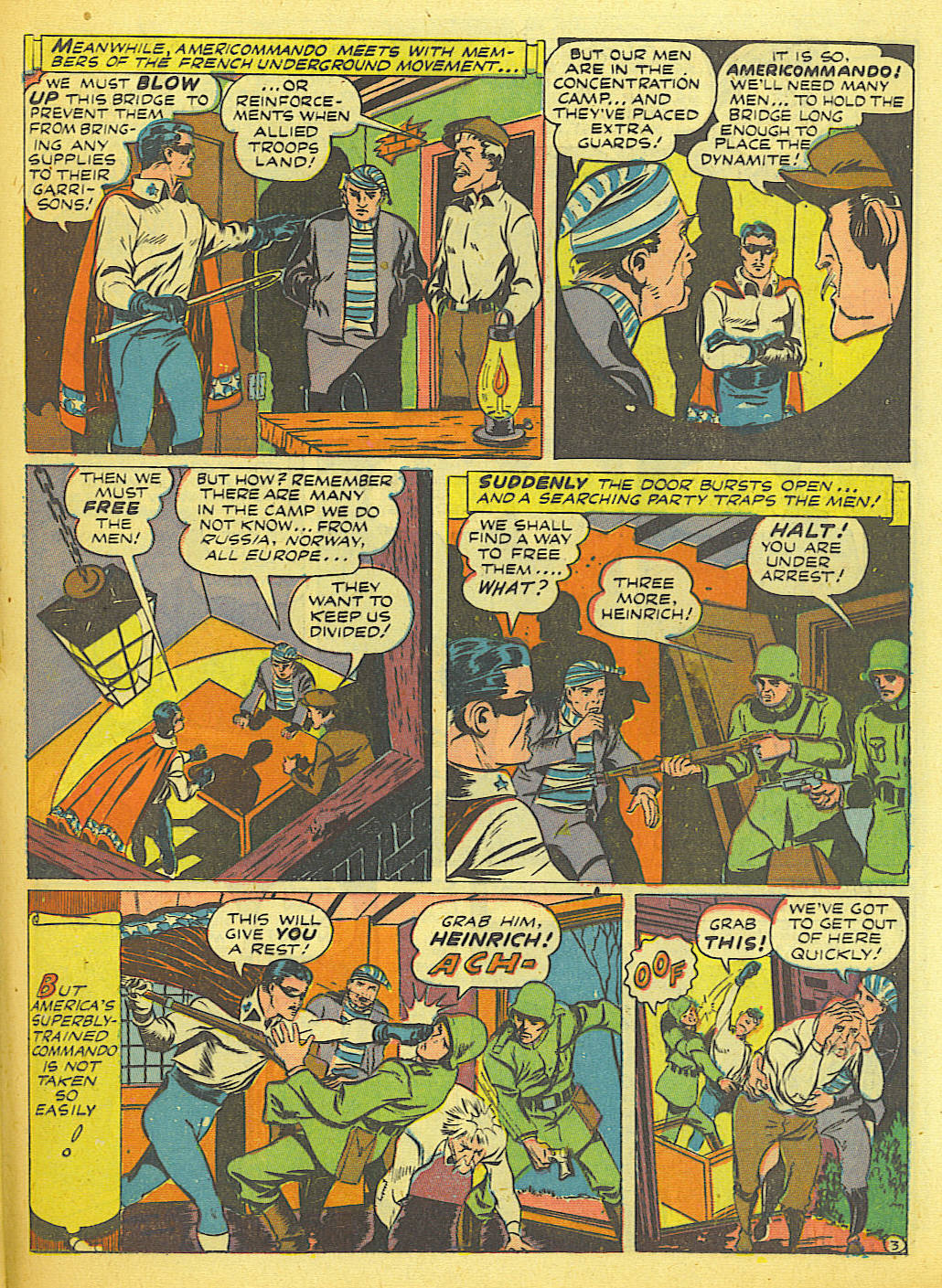 Read online Action Comics (1938) comic -  Issue #58 - 35
