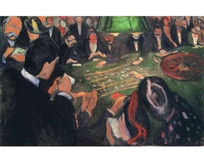 Al tavolo della roulette munch