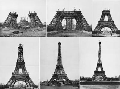 Construccion de la torre Eiffel