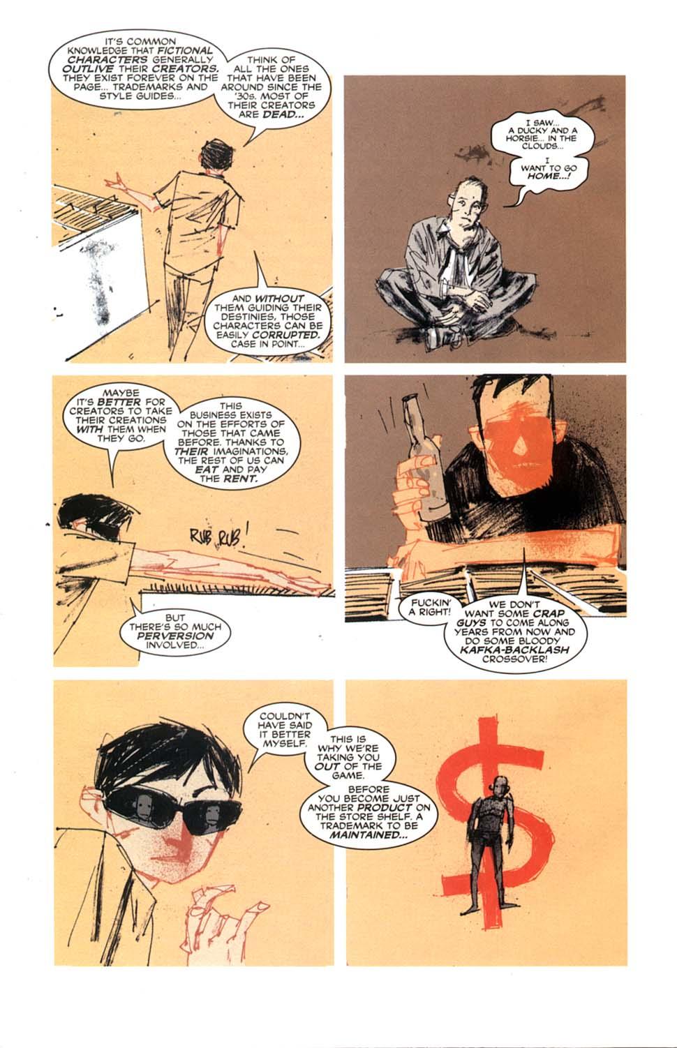 Read online Automatic Kafka comic -  Issue #9 - 20