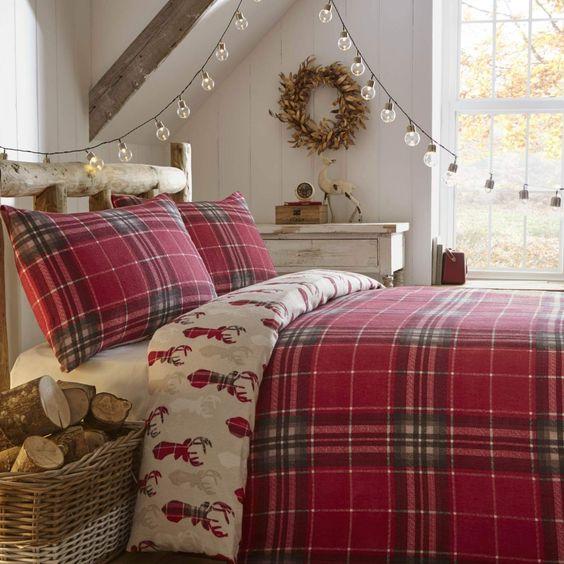 Bedroom Decor Sets: Christmas Stuff: 30 Christmas Bedroom Decorating Ideas On