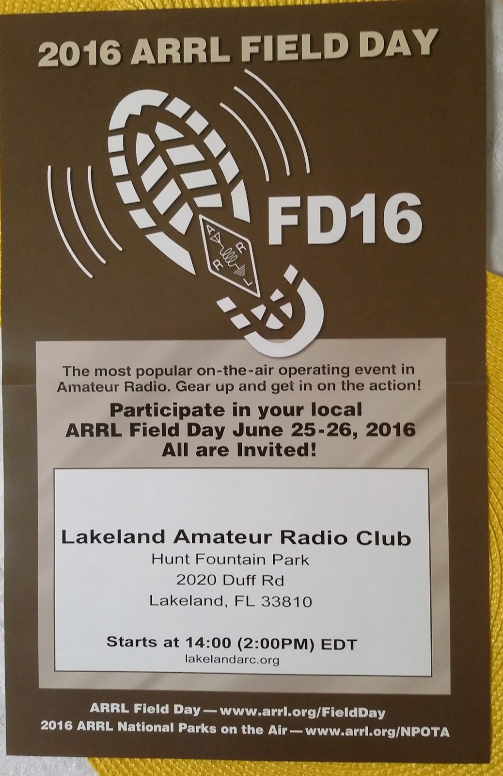 Lakeland Amateur Radio Club: 2016