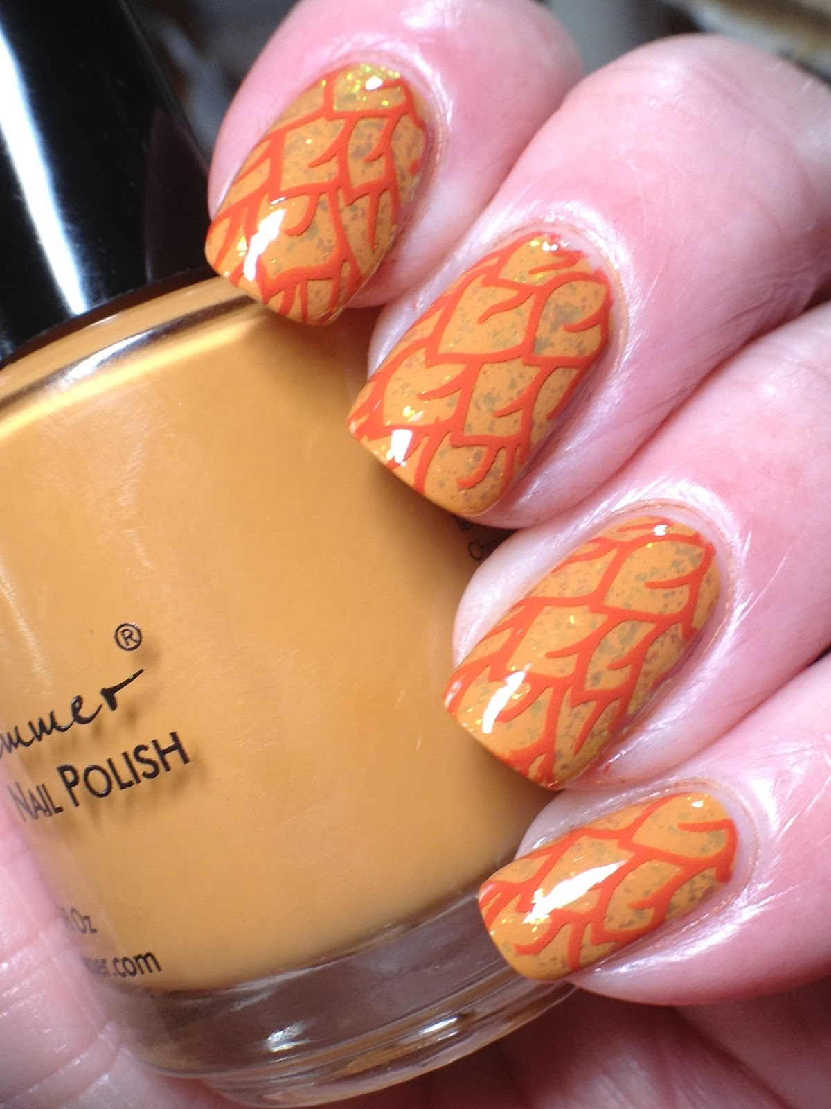 Canadian Nail Fanatic: Are We Tired of Fall Leaf Nails Yet?