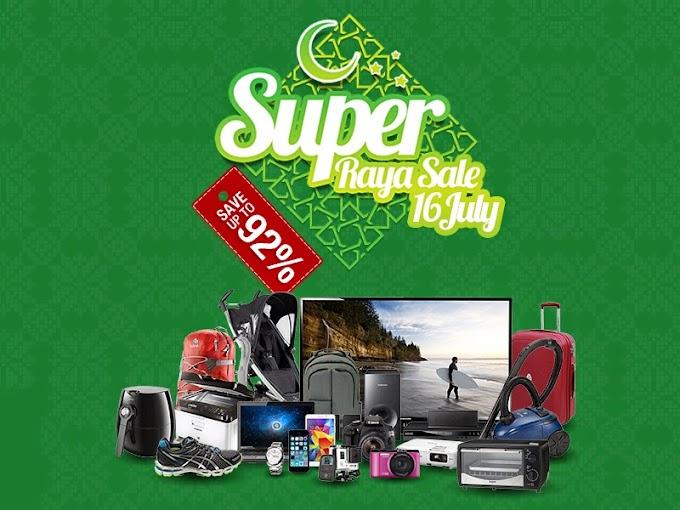 Super Raya Sale by Lazada