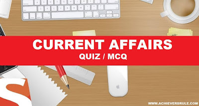 Daily Current Affairs MCQ - 4th January 2018