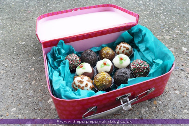 Ginger Nut Truffles [No-Bake] | The Purple Pumpkin Blog