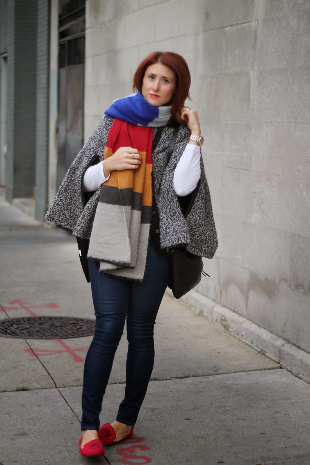 HOT PINK style  Zara Blanket Scarf 94b3e5405
