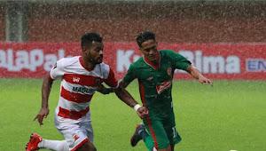 Tumbangkan PSS Sleman, Madura United Pimpin Sementara Grup D