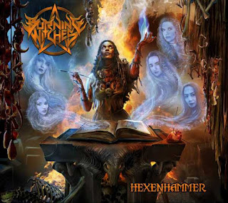 "Το album των Burning Witches ""Hexenhammer"""