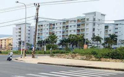 Khu vực Ngã ba Lê Văn Duyệt - Trần Hưng Đạo - Vân Đồn, nơi được dự kiến sẽ là đầu hầm chui vượt sông Hàn ở bờ phía Đông