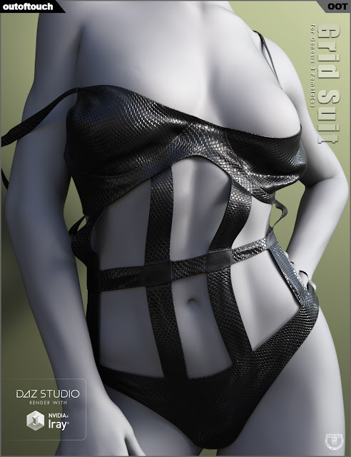 Grid Suit for Genesis 3 Female