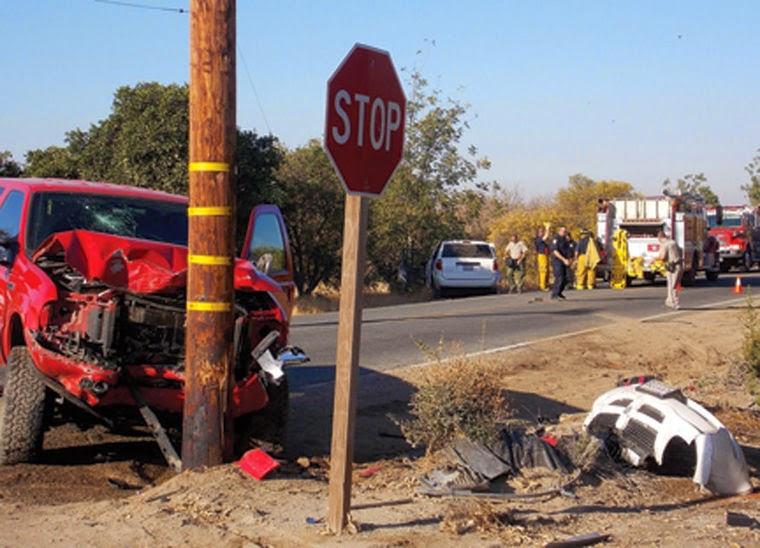 Fresno Visalia Bakersfield Accidents: Porterville Girl Killed in