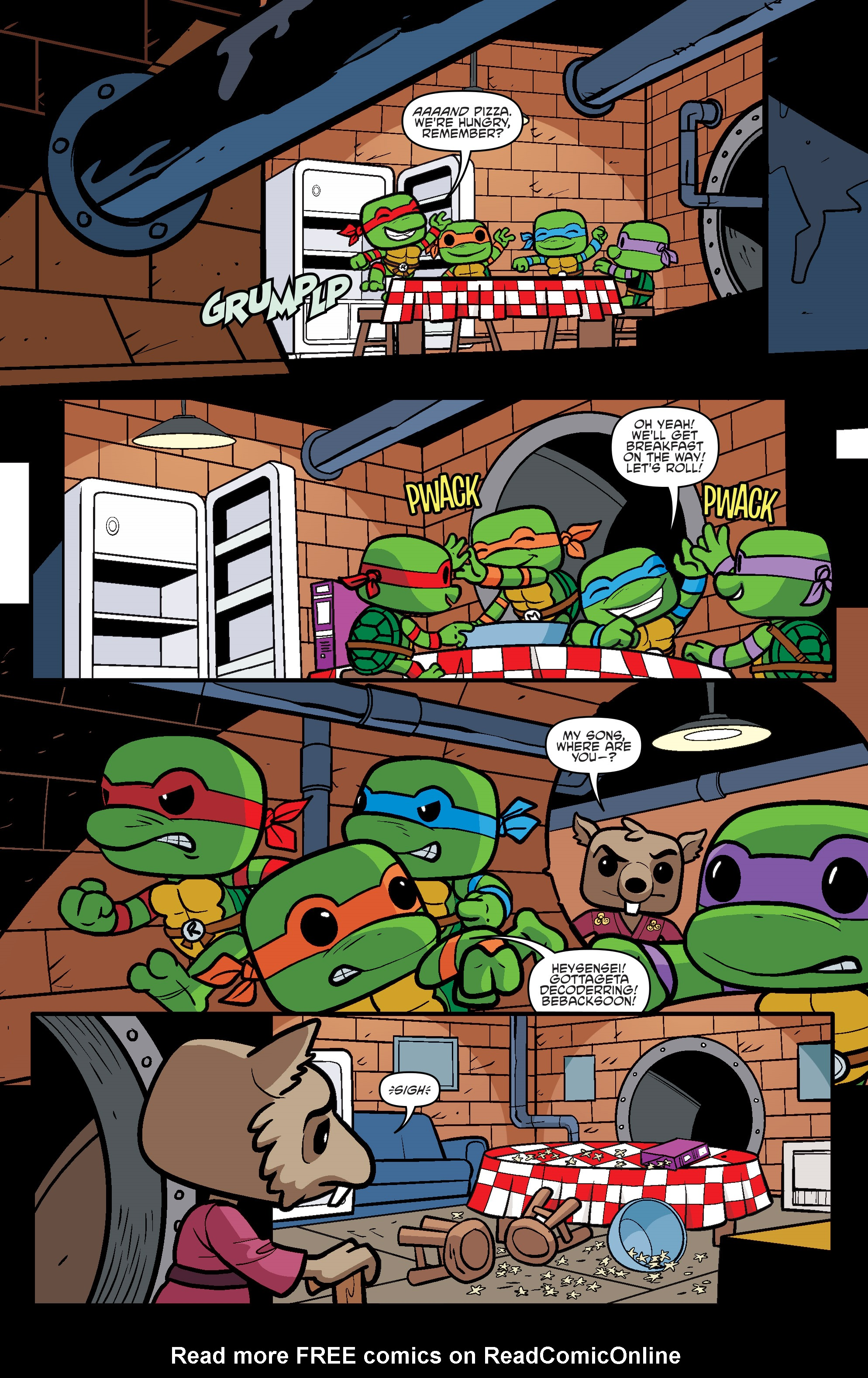 Read online Teenage Mutant Ninja Turtles Universe comic -  Issue #11 - 33