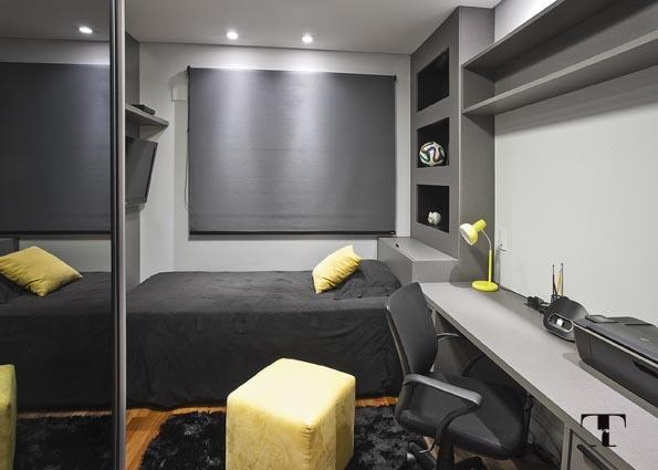 Apartamento tons neutros e clássico Renata Tolentino. Blog Achados de Decoração