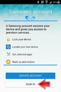 Solusi Samsung Galaxy J200F Lupa Password Email