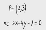 41. Distancia de un punto a un recta