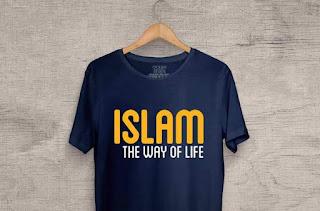 Memilih Kaos tema Muslim Islam untuk rayakan Lebaran 2019