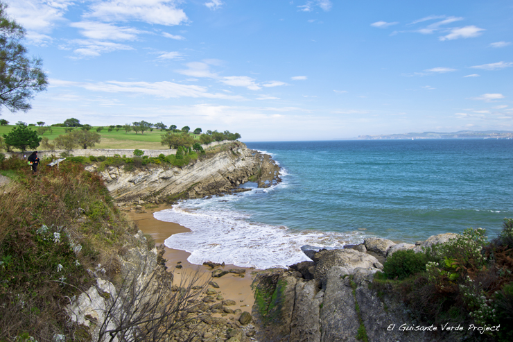 Playa de Los Molinucos - Santander por El Guisante Verde Project