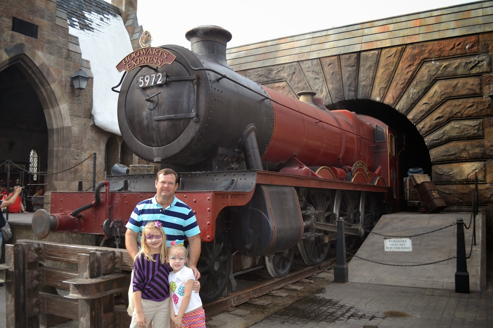 The Train at Universal - Islands of Adventure