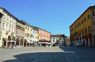 The Piazza del Popolo is the main square of Cesena