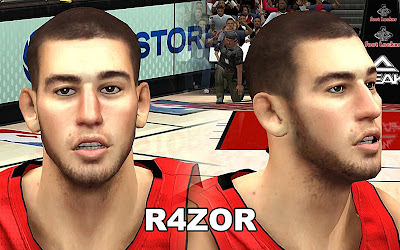 NBA 2K13 Jonas Valanciunas Face Update