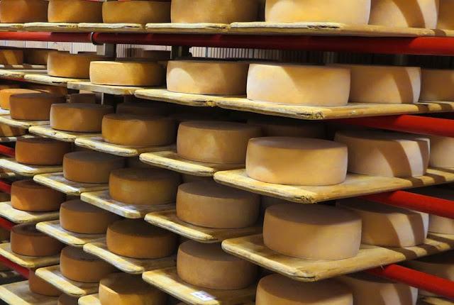 Chez Bio Suisse: Fondue- und Raclette-Käse aus Schaf- und Ziegenmilch
