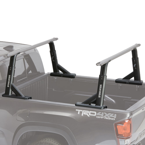Yakima BedRock Truck Bed Rack-Truck Bed Mount-4 Pack-Four Towers-No Crossbars