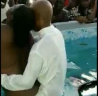 Pastor caught pants down