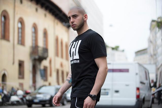 les hommes settimana della moda milano