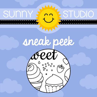 Sunny Studio Stamps: Sweet Shoppe Stamp Set Sneak Peek