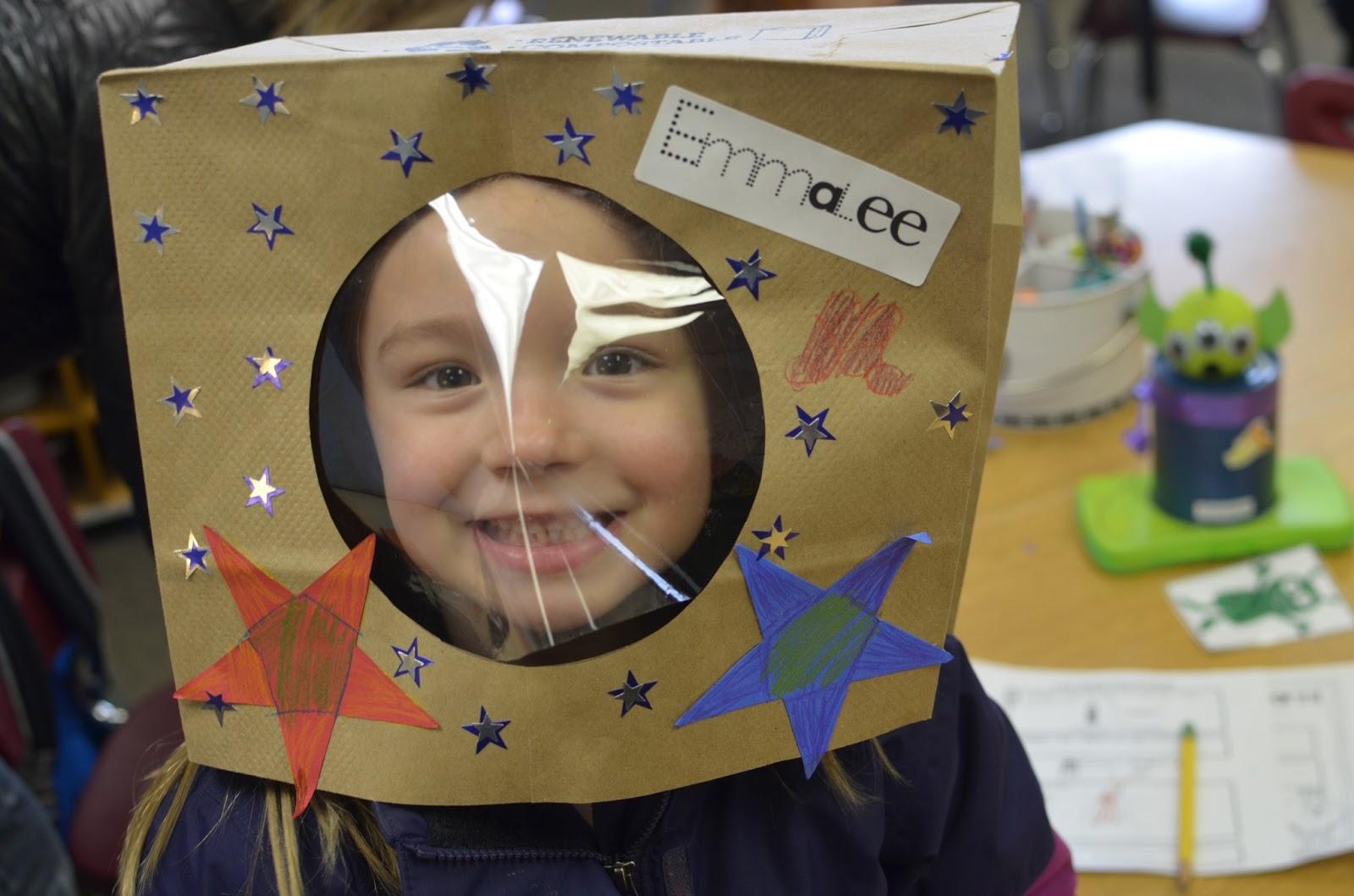 astronaut helmet craft preschool - photo #16