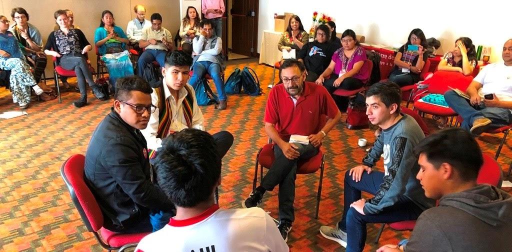 Jóvenes protagonistas [Asamblea de las 3 Voces tdh - Bogotá 2019]