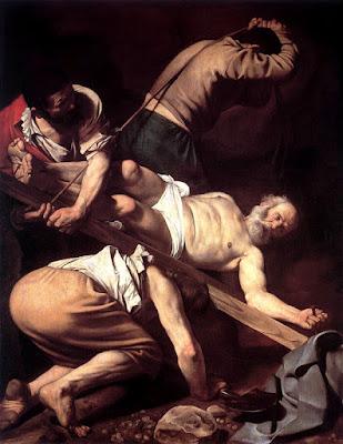 Caravaggio, Crucifixión de San Pedro