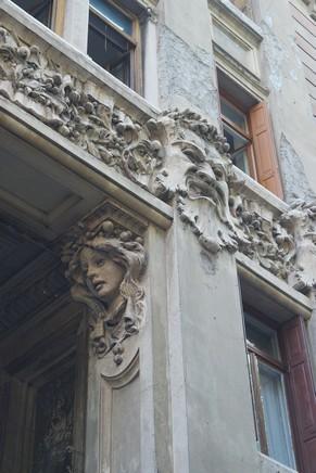 italie trieste liberty via mascheroni